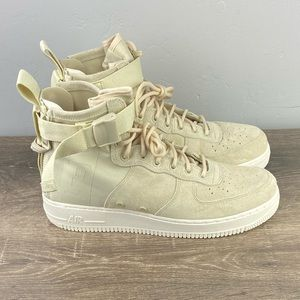 NEW SF Air Force 1 Mid Fossil